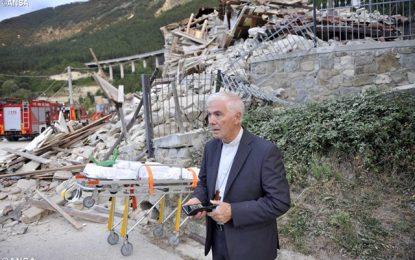 Terremoto: el Papa llama por teléfono al Obispo de Rieti. «Me invitó a no tener miedo»