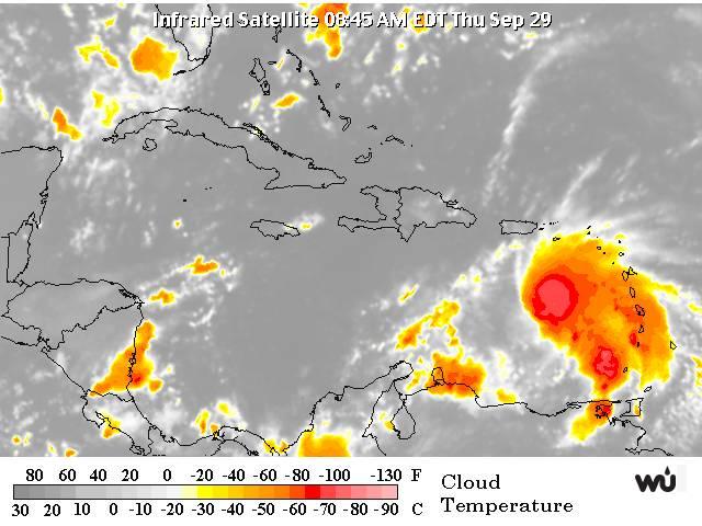 Onda tropical con 90% de convertirse en ciclón afectará al país el viernes