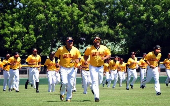 Las Aguilas Cibaeñas anuncian apertura de sus entrenamientos.