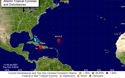 Se forma la  decimocuarta tormenta tropical.