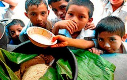 """Nivel de hambre en el mundo sigue siendo alto; en RD es """"moderado""""."""