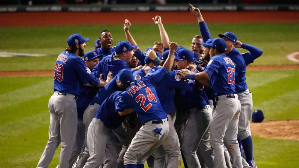 Los Cubs ganan la Serie Mundial 108 años después