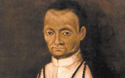 03 de noviembre, aniversario luctuoso, de San Martín de Porres.