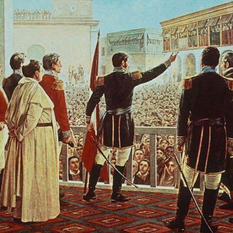 La independencia efímera del 1 ero de diciembre de 1821.