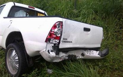 Tres personas resultan heridas en accidente en carretera Seibo/Hato Mayor.