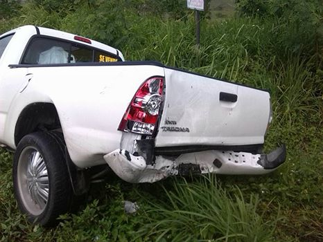 Tres personas resultan heridas en accidente en carretera Seibo/Hato Mayor.