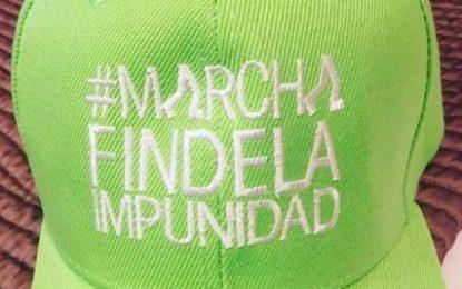 """Gran marcha """"Fin de la Impunidad"""