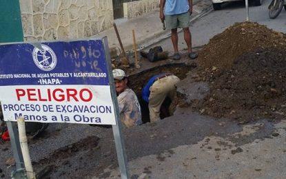INAPA logró restaurar el servicio de agua en El Seibo.