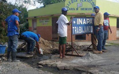 INAPA  cortara servicio de agua a quienes no pague.