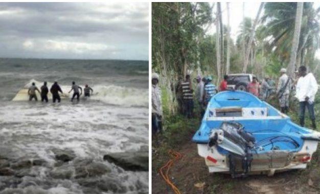 Dos muerto y varios desaparecidos en naufragio, Miches
