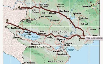 """El 13 de marzo de 1844 se escenifico la Batalla de La Fuente de Rodeo, también conocida como """"Bautismo de sangre""""."""