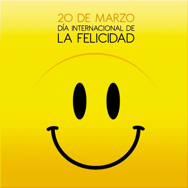 20 de marzo es el Día Internacional de la Felicidad.