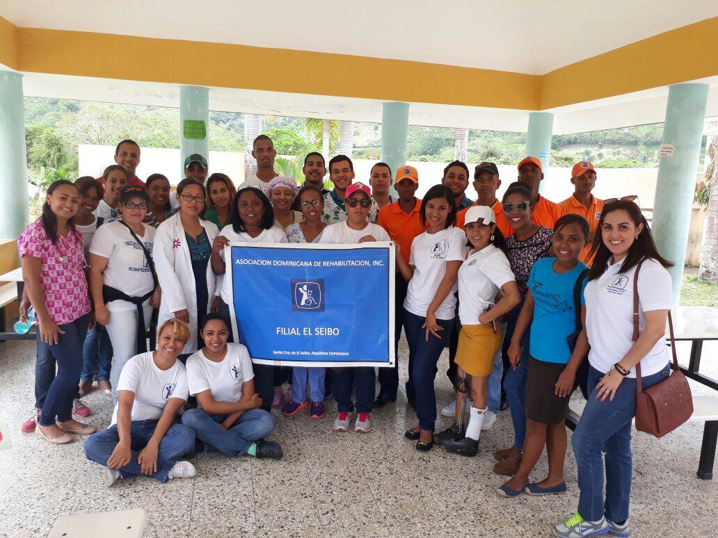 473 seibanos se benefician de Operativo Medico de Rehabilitación.