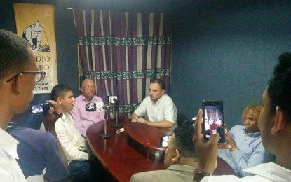 Provincia de El Seibo indignada en pie de lucha hacia el Palacio Nacional.