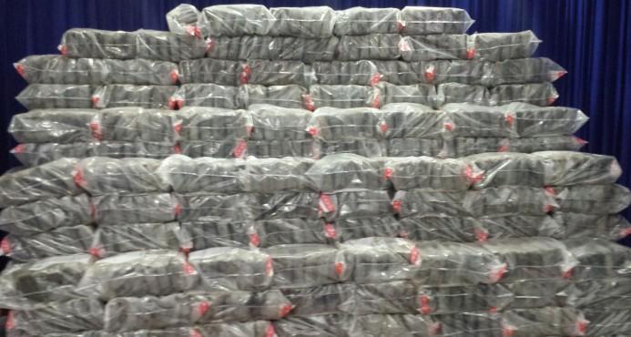 Conocerán medida de coerción a involucrados en alijo de 1,104 kilos de cocaína.