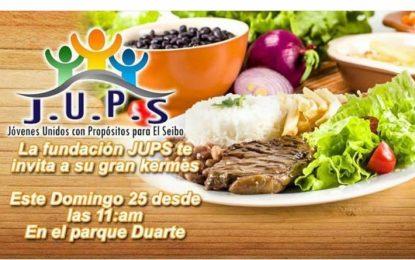 Fundación JUPS realizará kermes en El Seibo