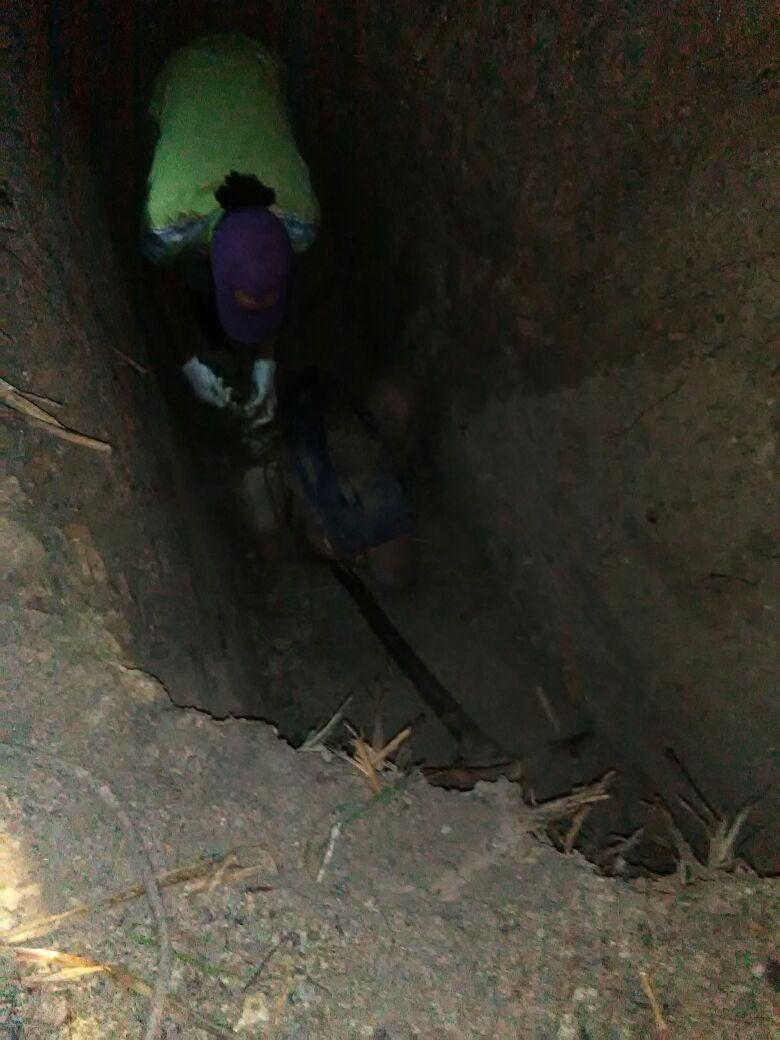 Hallan dos cadáveres en fosa en Mata de palma, El Seibo