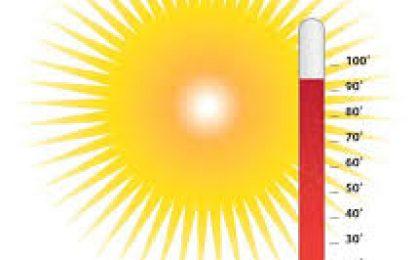 Onamet indica que  las temperaturas calurosas dominan el clima este viernes.