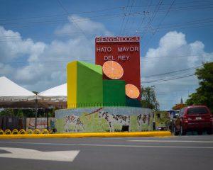 Inauguran monumento a la ganadería y los cítricos en Hato Mayor