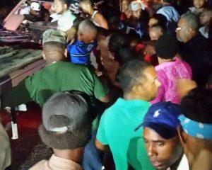 Al menos tres muertos y más de 10 heridos en accidente de tránsito en Hato Mayor