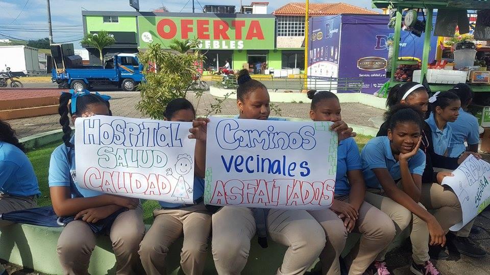 La mañana de este miércoles, 29 de noviembre  la población seibana se lanzó las calles en demanda de sus reivindicaciones.