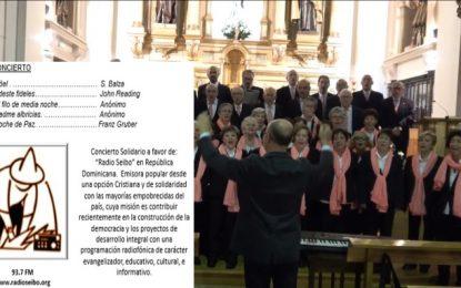 Realizan concierto solidario a favor de » Radio Seibo»
