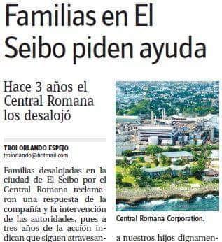 Familias en El Seibo piden ayuda