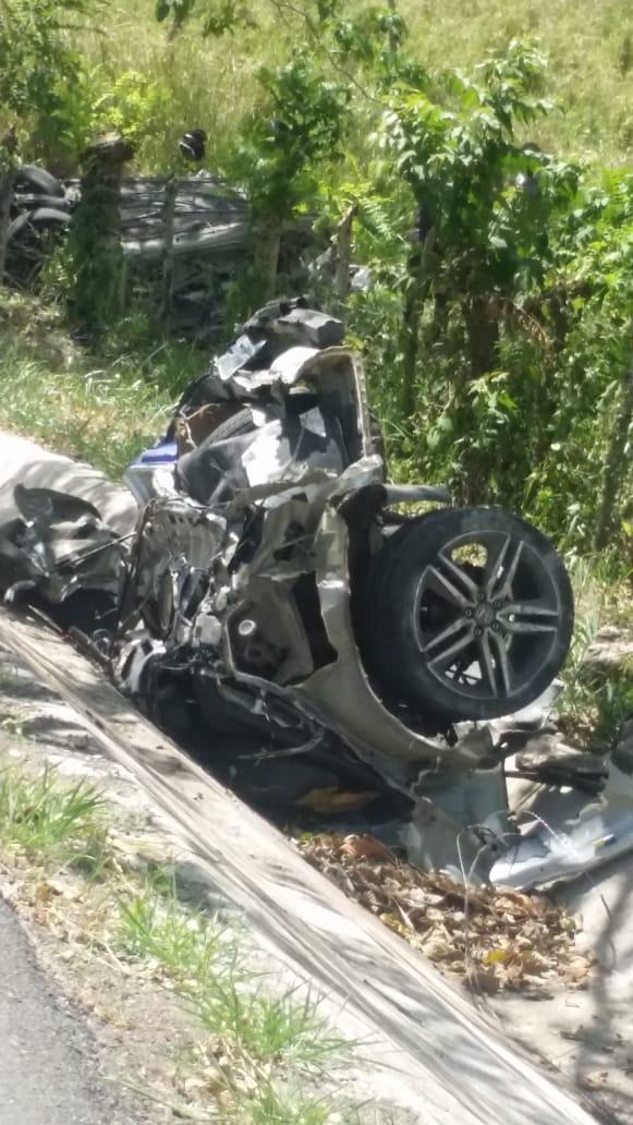 Accidente de Transito en carretera El Seibo-Pedro Sanchez