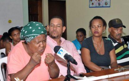 Familias de La Culebra, Vicentillo, volverán a terrenos aunque pierdan la vida