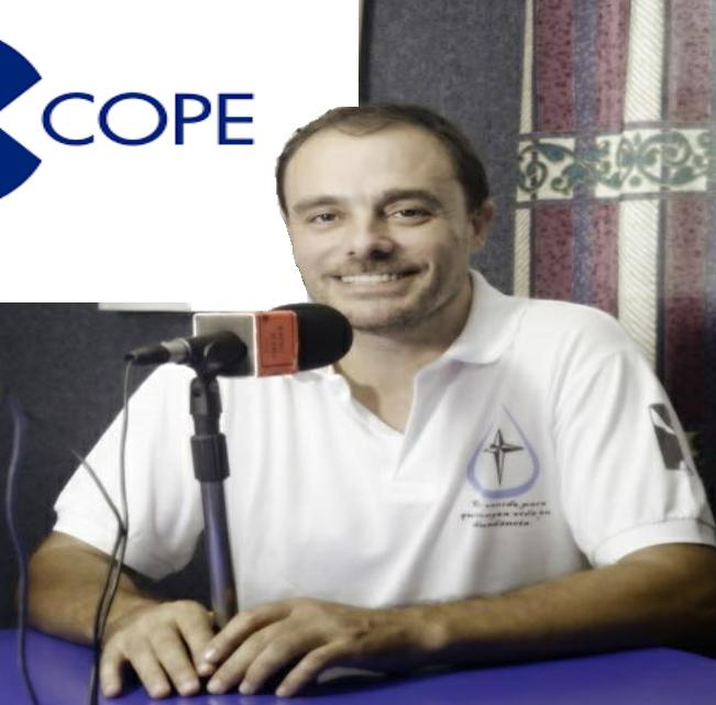 Entrevistan a Fray Miguel Ángel Gullón en la cadena COPE
