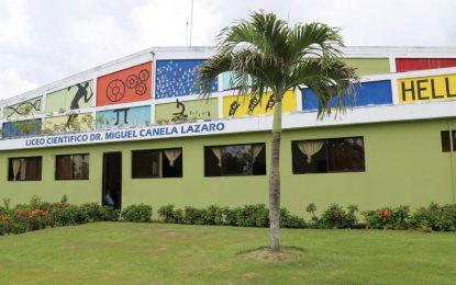 Liceo Científico Miguel Canela Salcedo «Un modelo educativo a seguir»