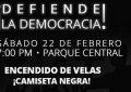 ¡El Seibo defiende la democracia!