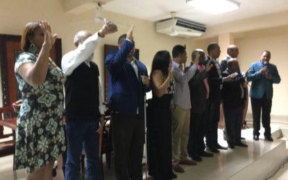 Juramentan nueva directiva del Sindicato Nacional de Trabajadores de la Prensa en El Seibo