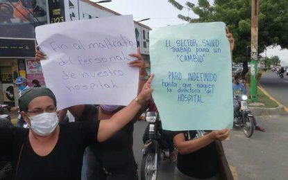 Piden destitución de la directora del Hospital Dr. Teófilo Hernández