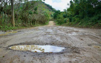 Caminos vecinales de El Seibo en condiciones críticas