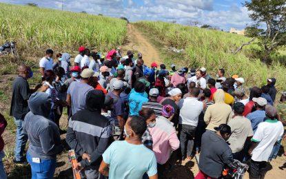 Asociaciones campesinas aúnan esfuerzos en su lucha por tierra para trabajar