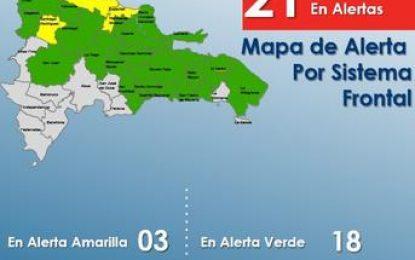 El Seibo entre las provincias en alerta metereológica