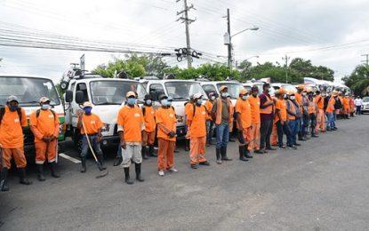 Obras Públicas interviene diversas localidades de El Seibo