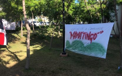 Peregrinos de El Seibo siguen pidiendo la devolución de sus tierras
